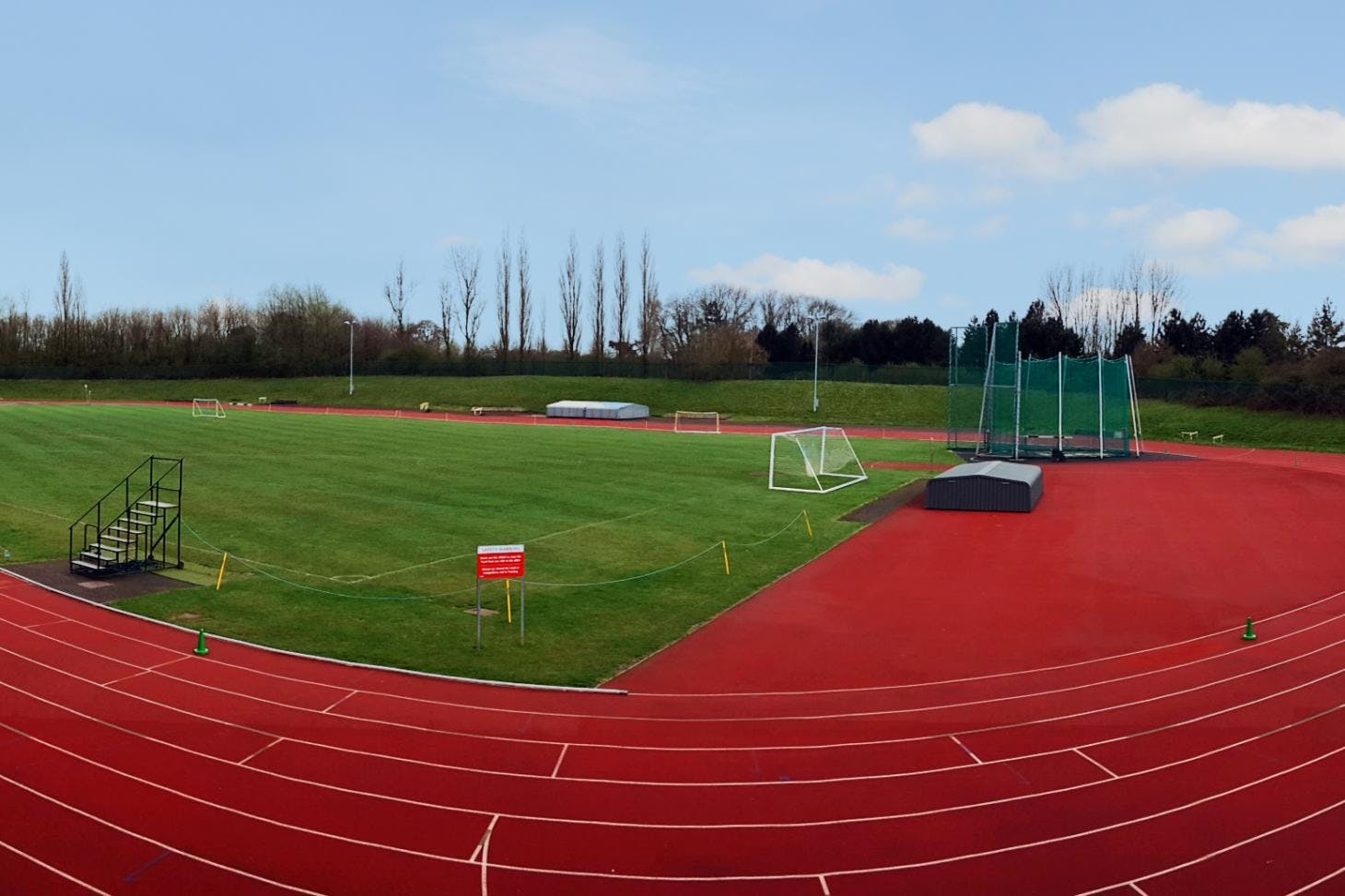 Stockwood Park Athletics Centre 11 a side | Grass football pitch