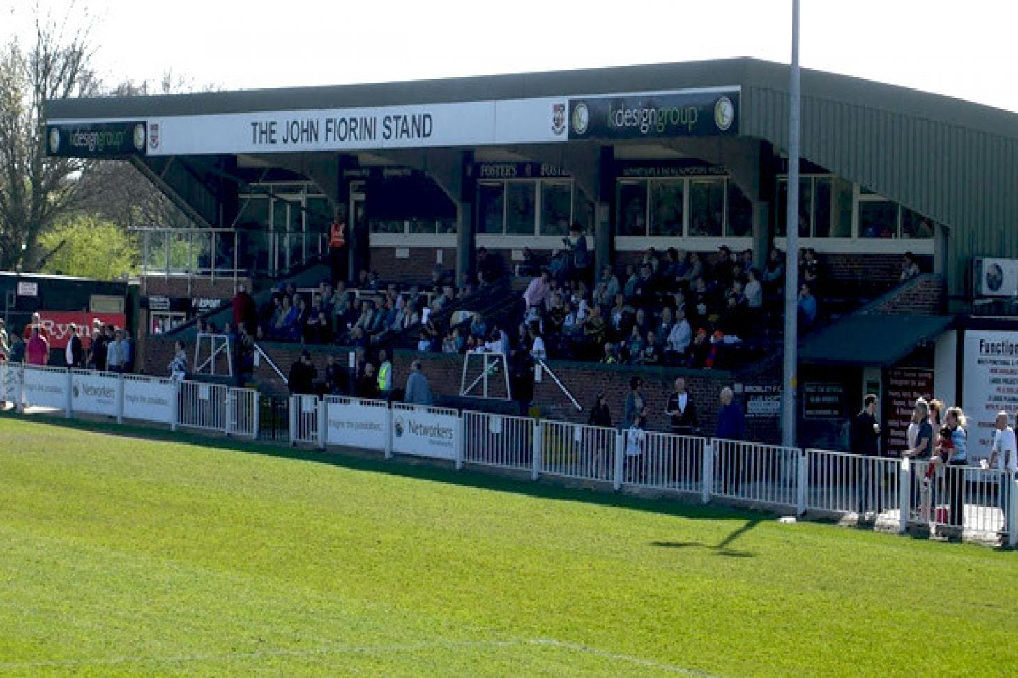 Bromley Football Club 11 a side   Grass football pitch
