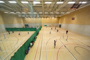 Inspire: Luton Sports Village | Indoor Netball Court