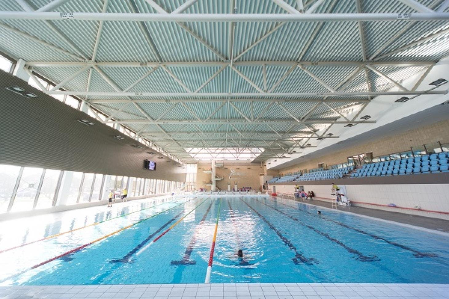 Inspire: Luton Sports Village Indoor swimming pool