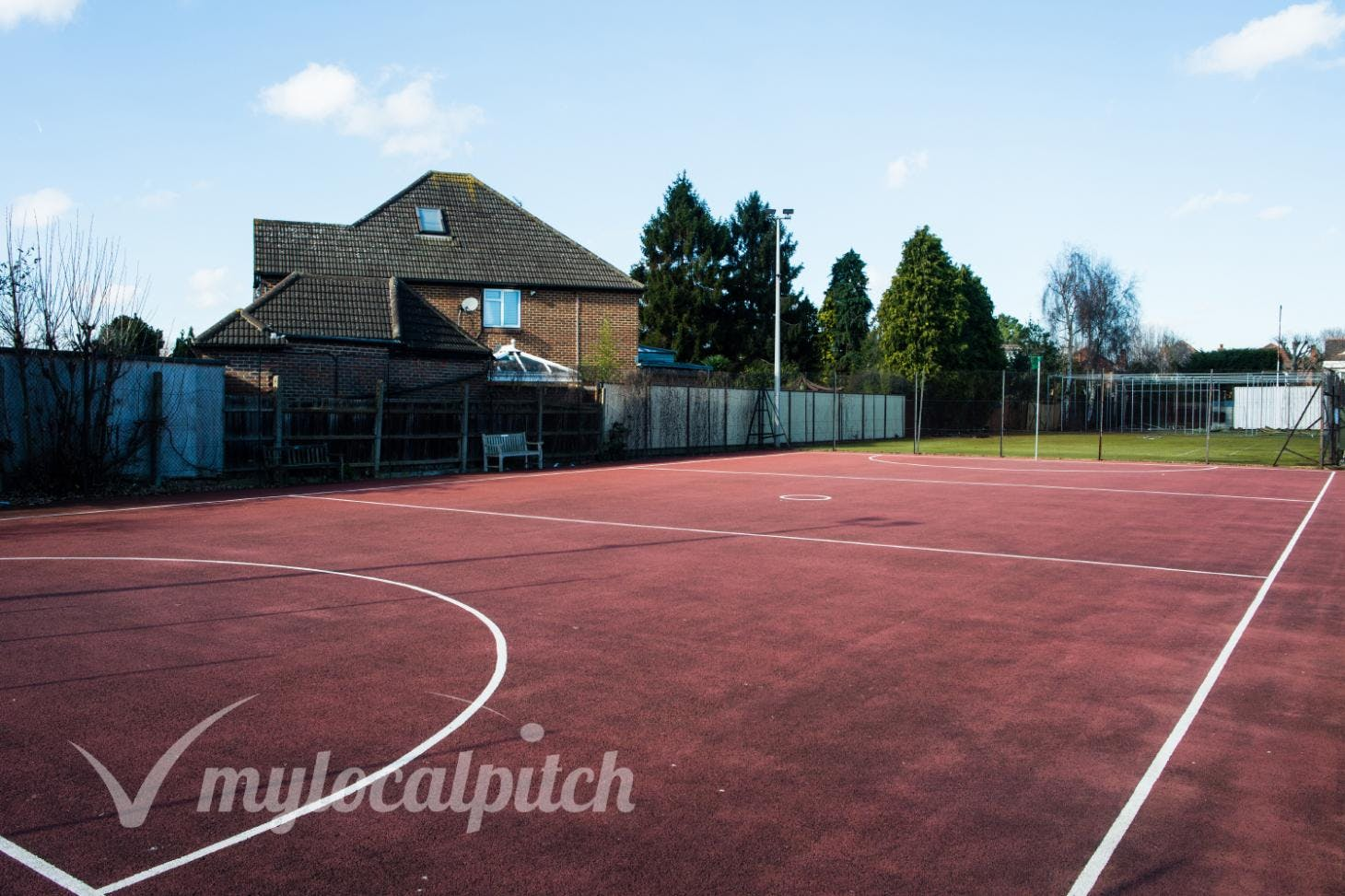 Old Actonians Association Outdoor   Hard (macadam) netball court