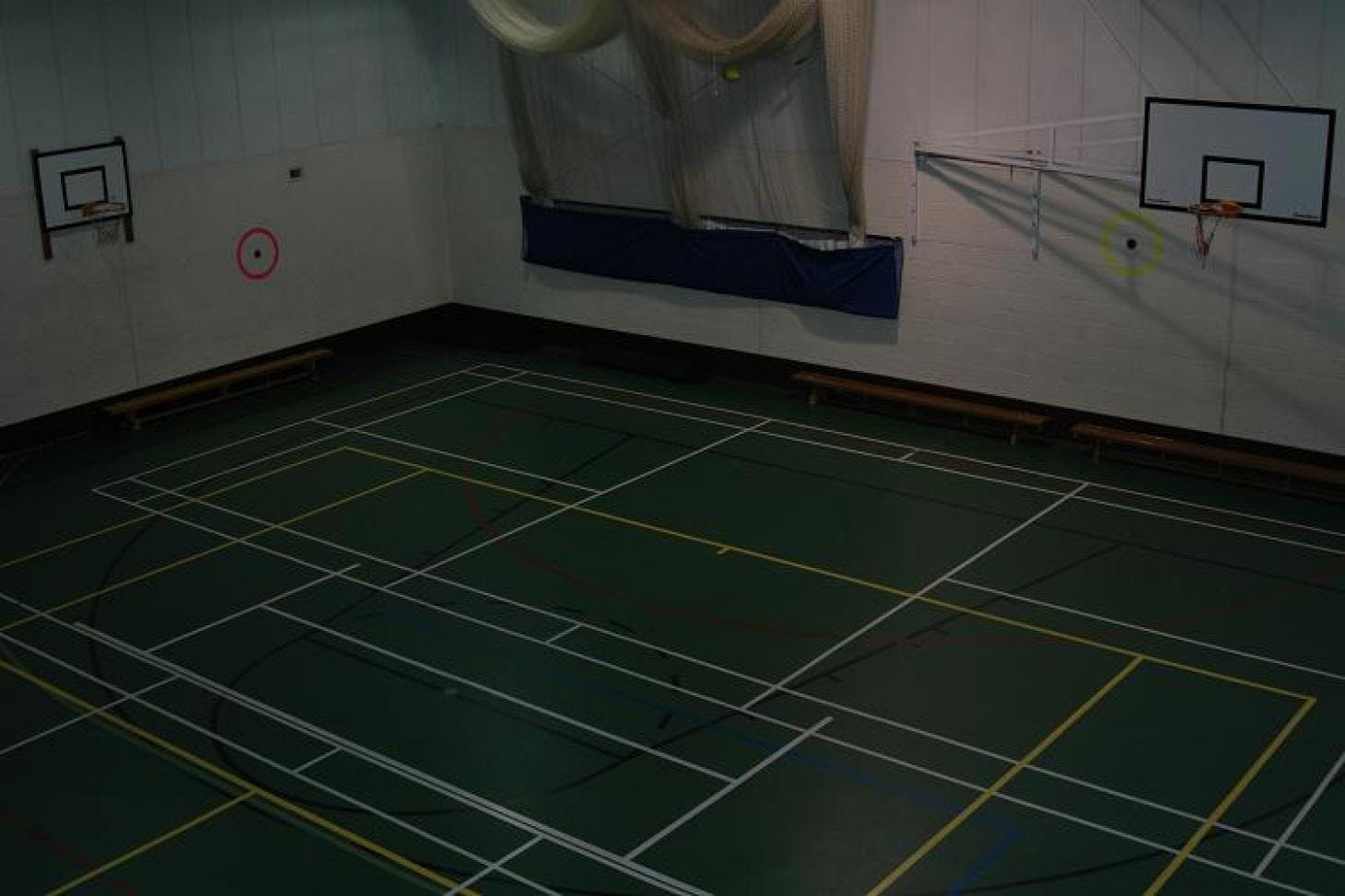 Croydon Sports Club Indoor basketball court