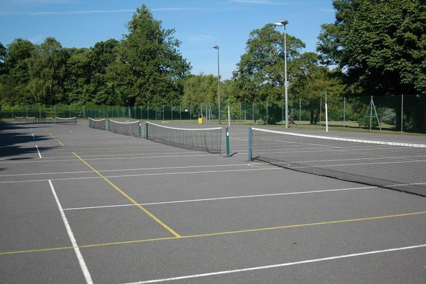 Croydon Sports Club Outdoor | Hard (macadam) netball court