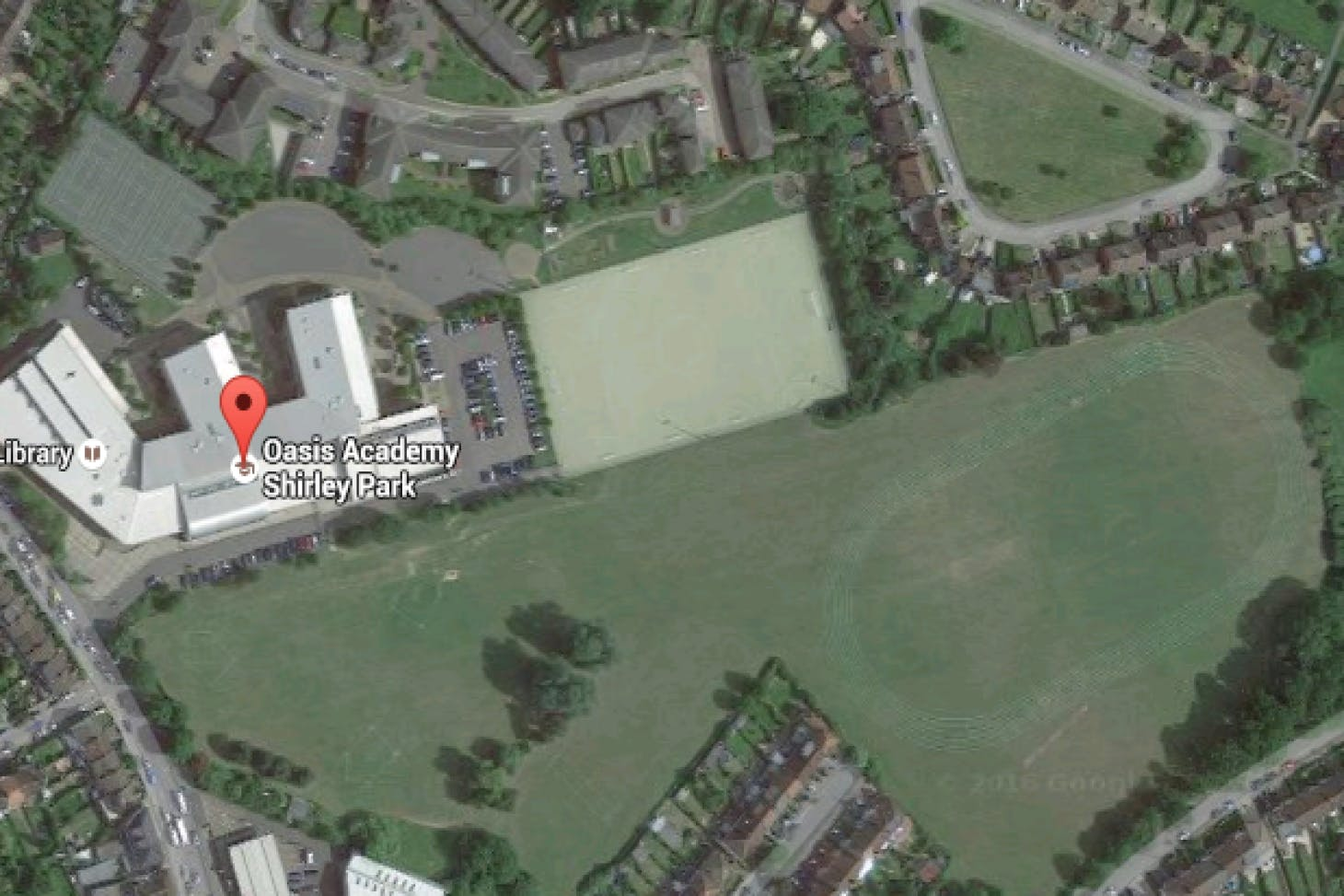Oasis Shirley Park 11 a side | Astroturf football pitch
