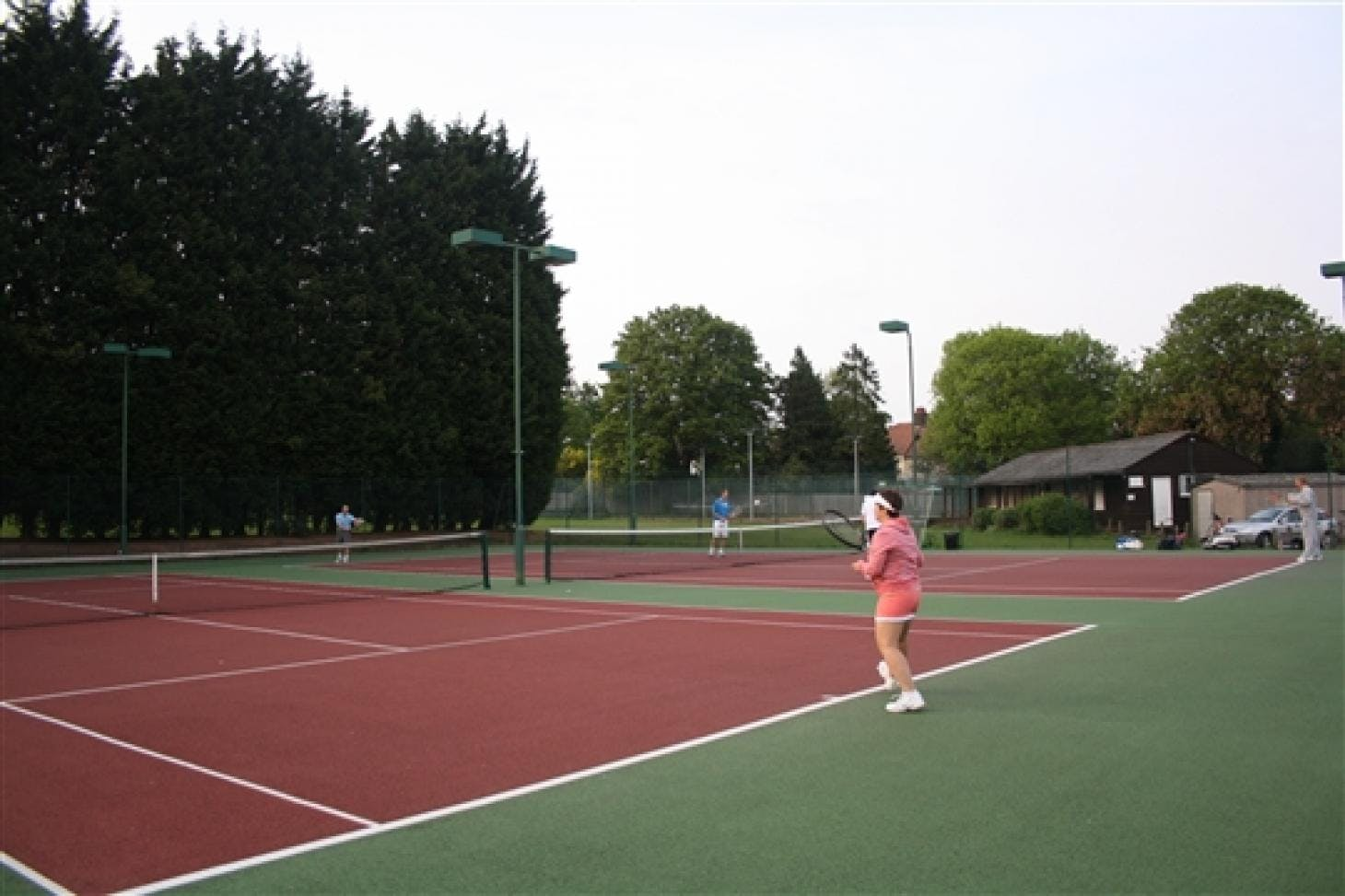 Brackendale Lawn Tennis Club Outdoor | Astroturf tennis court