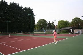 Brackendale Lawn Tennis Club | Astroturf Tennis Court