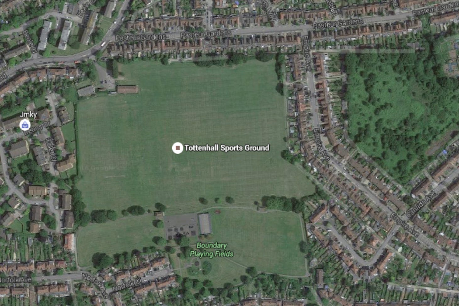 Tottenhall Recreation Ground 11 a side | Grass football pitch