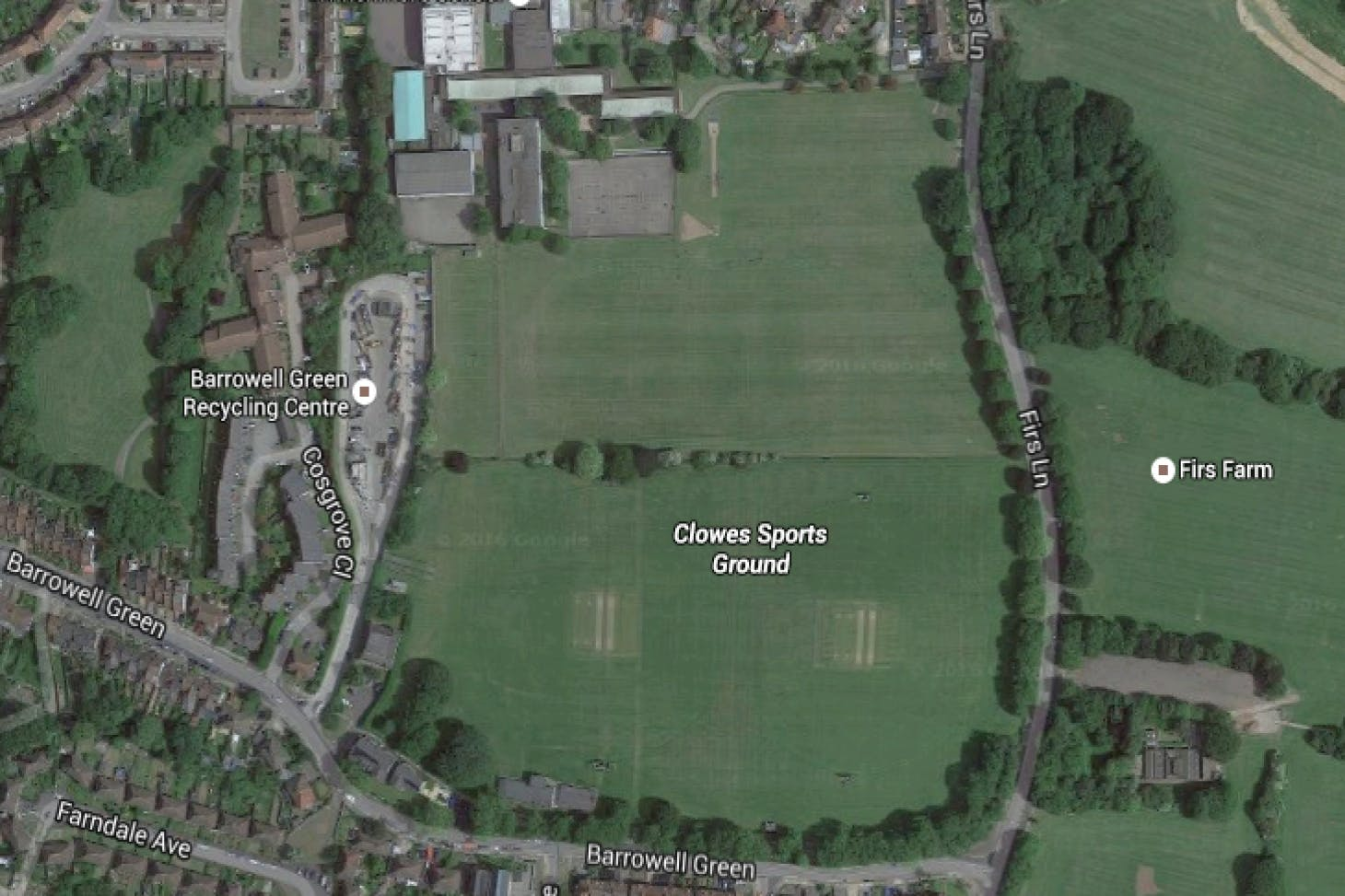 Clowes Sports Ground 11 a side | Grass football pitch