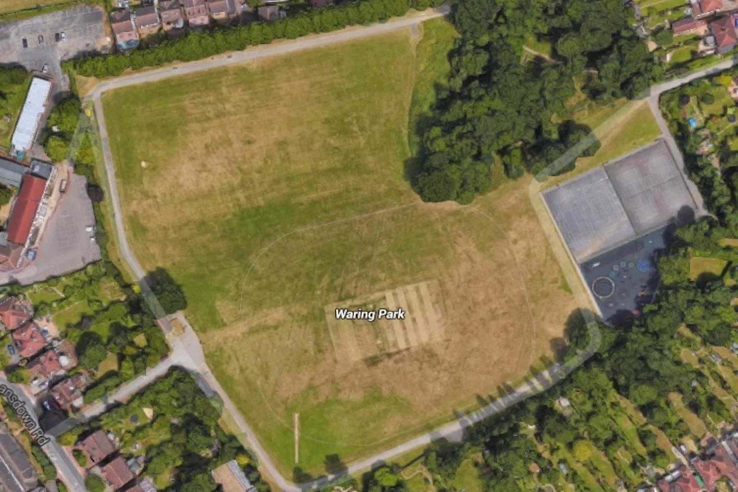 Waring Park Full size | Grass cricket facilities