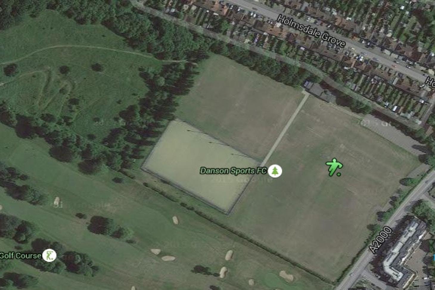 Mayplace Recreation Ground (Danson Sports Football Club) Full size | Grass cricket facilities