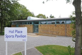 Hall Place Sports Pavilion | Grass Cricket Facilities