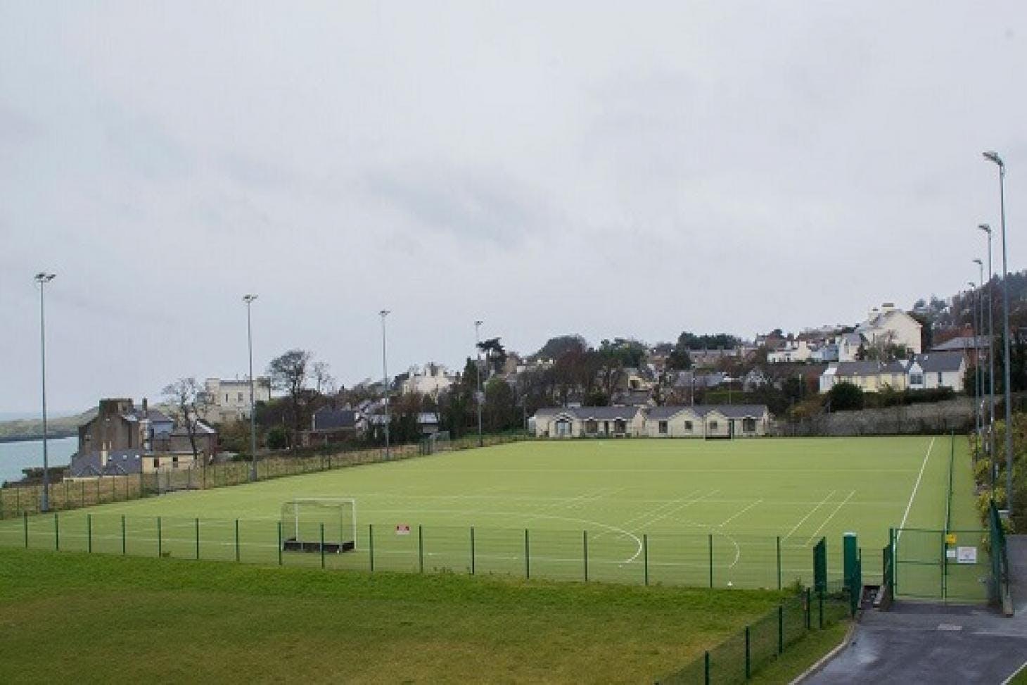 Loreto Abbey Sports Hall 11 a side | Astroturf football pitch