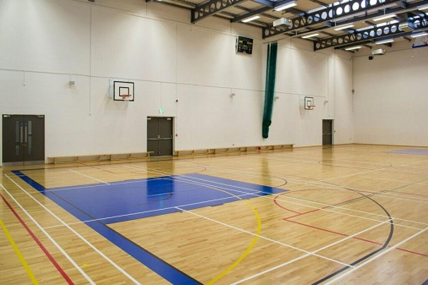 Loreto Abbey Sports Hall Indoor basketball court