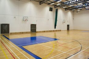 Loreto Abbey Sports Hall | Hard Badminton Court