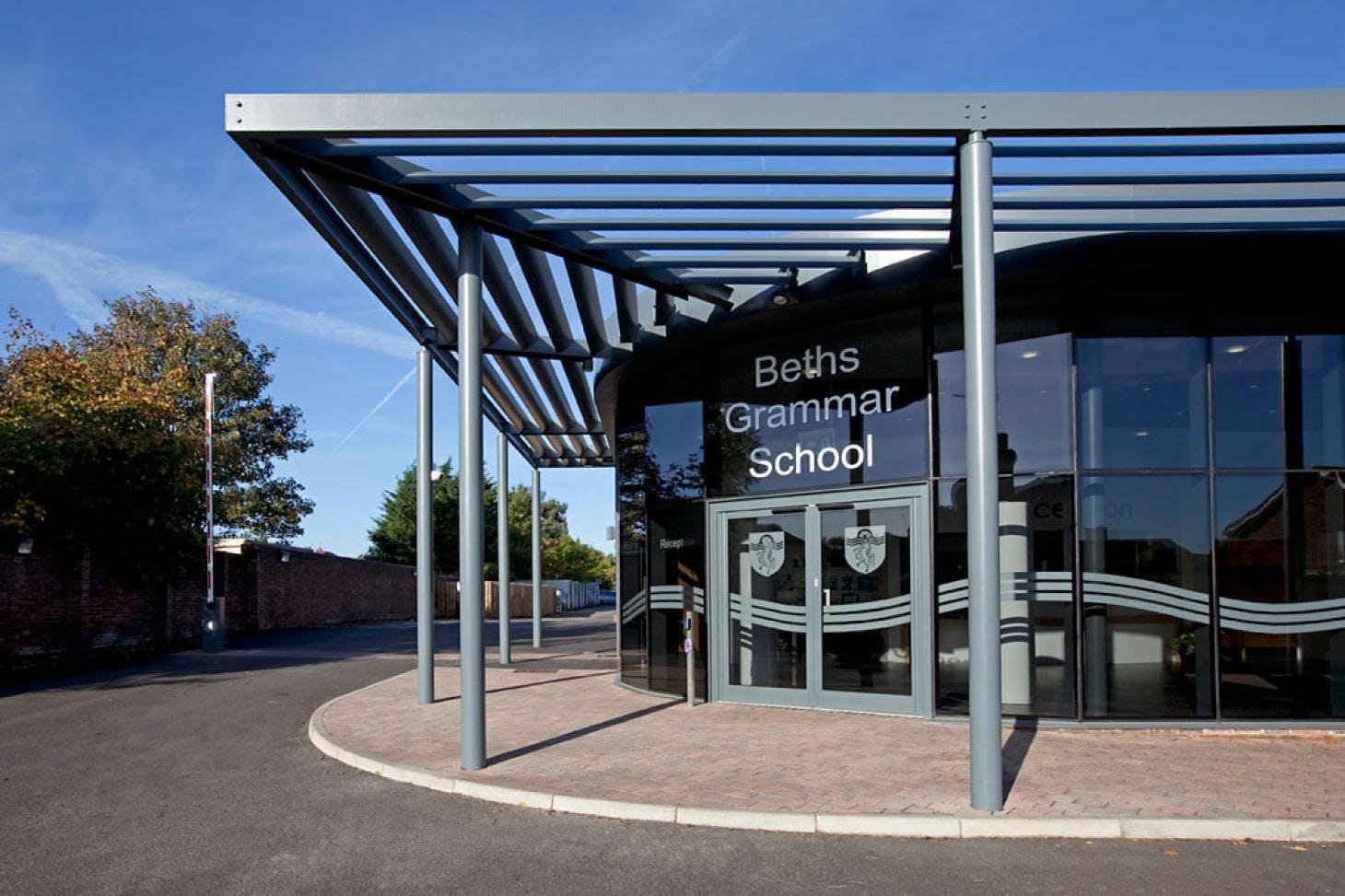 Beths Grammar School Nets   Artificial cricket facilities