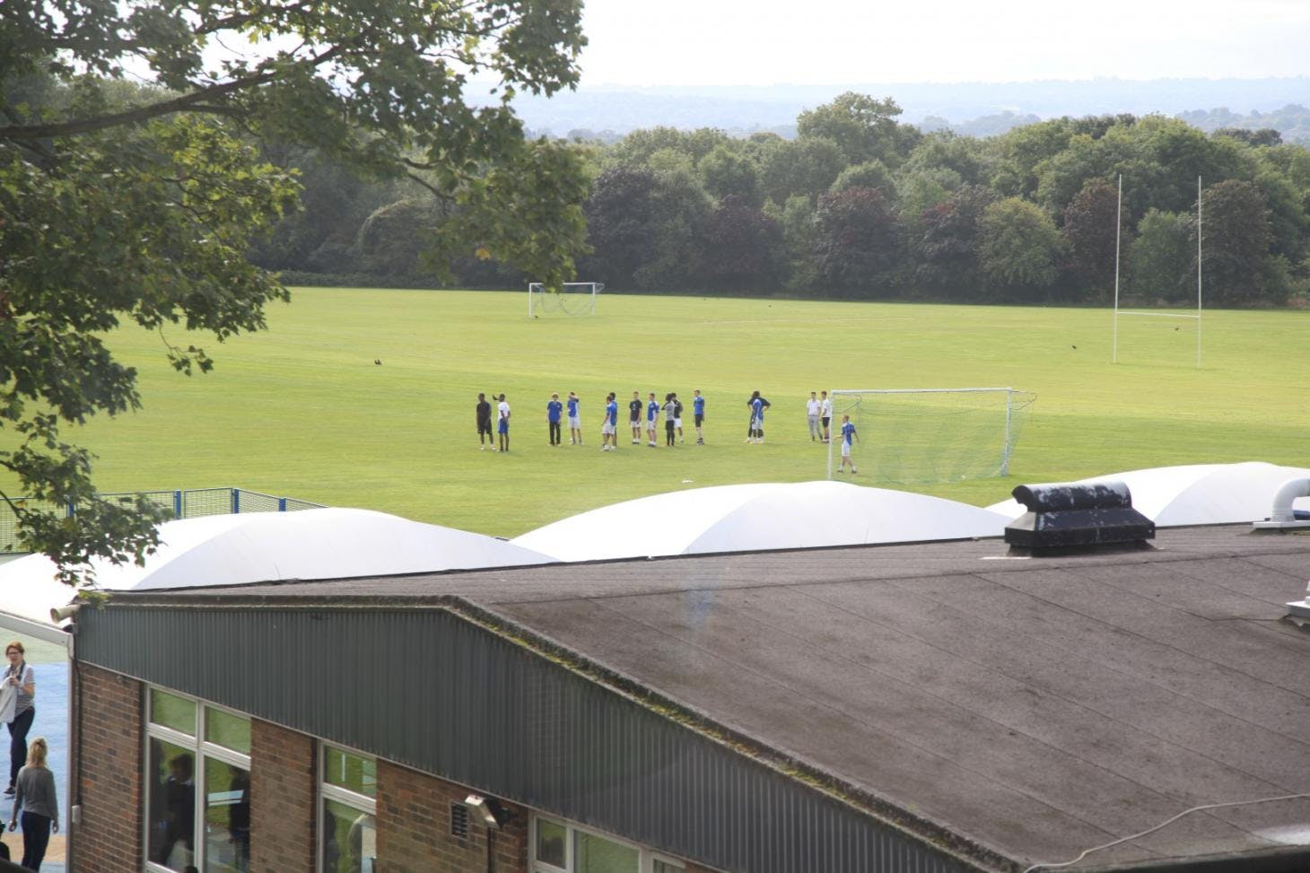 Coopers School Union   Grass rugby pitch