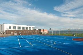 Loreto Abbey Sports Hall | Hard (macadam) Basketball Court