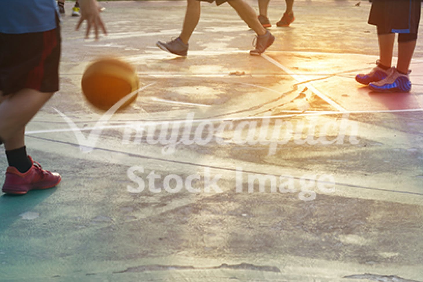 Desborough College Indoor basketball court