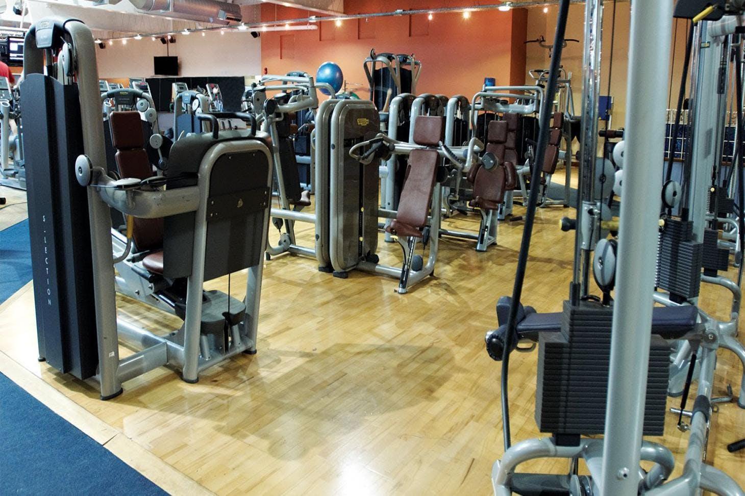 David Lloyd Maidenhead Indoor gym