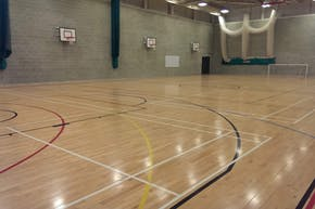 Harris Academy Falconwood   Indoor Netball Court