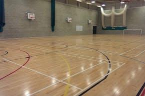 Harris Academy Falconwood   Hard Badminton Court