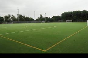 Lea Valley High School   Astroturf Football Pitch