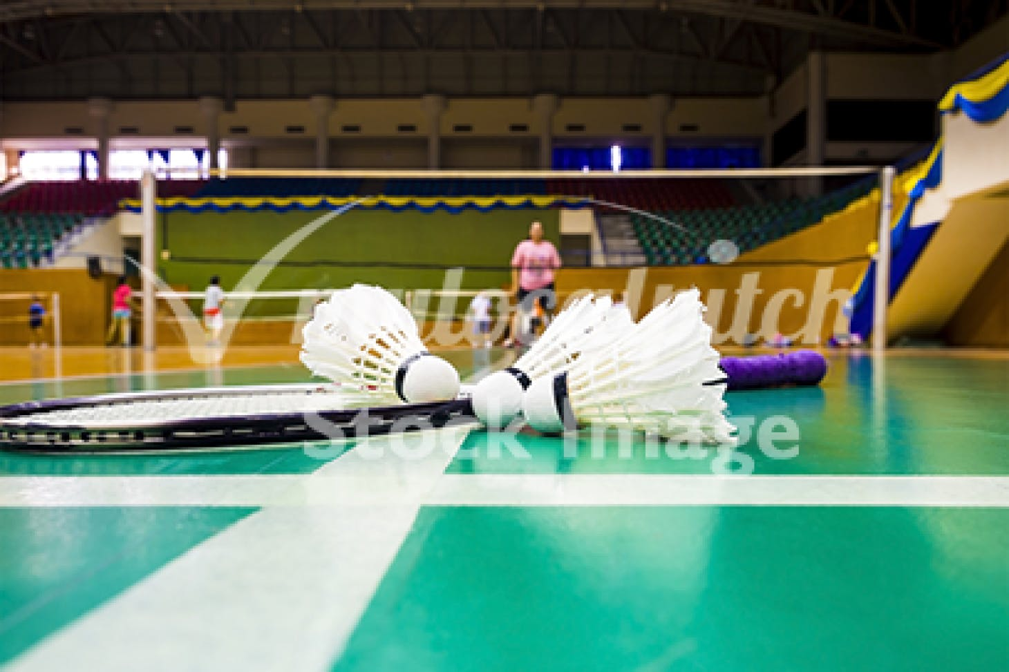 Watford Leisure Centre - Woodside Indoor | Hard badminton court