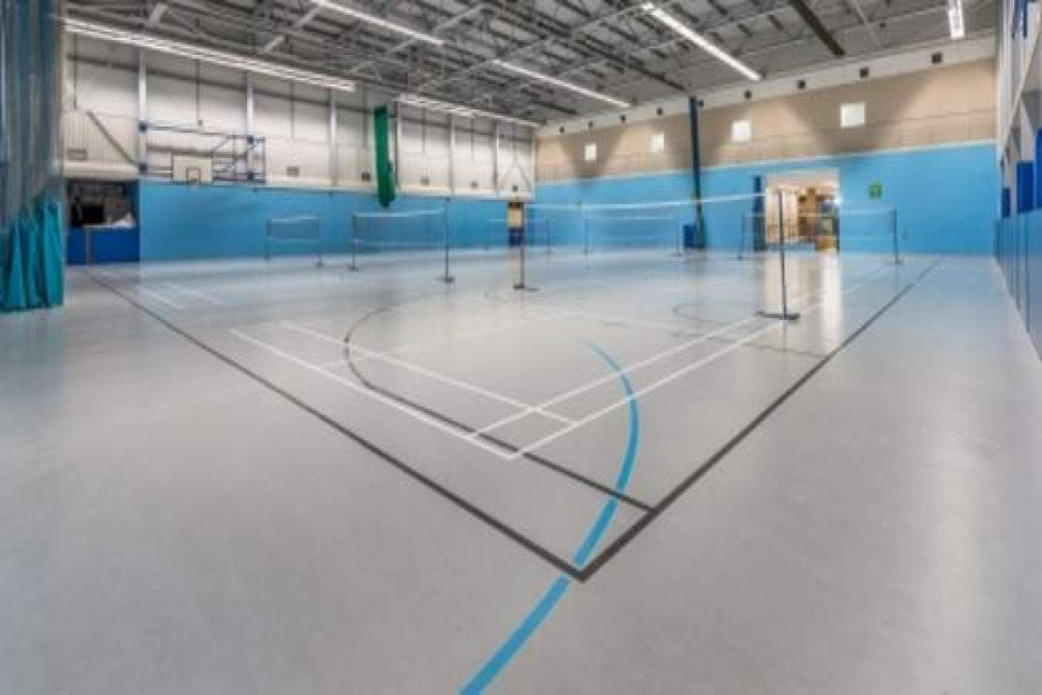 Canons Leisure Centre Indoor basketball court