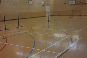 Becket Sports Centre | Hard Badminton Court