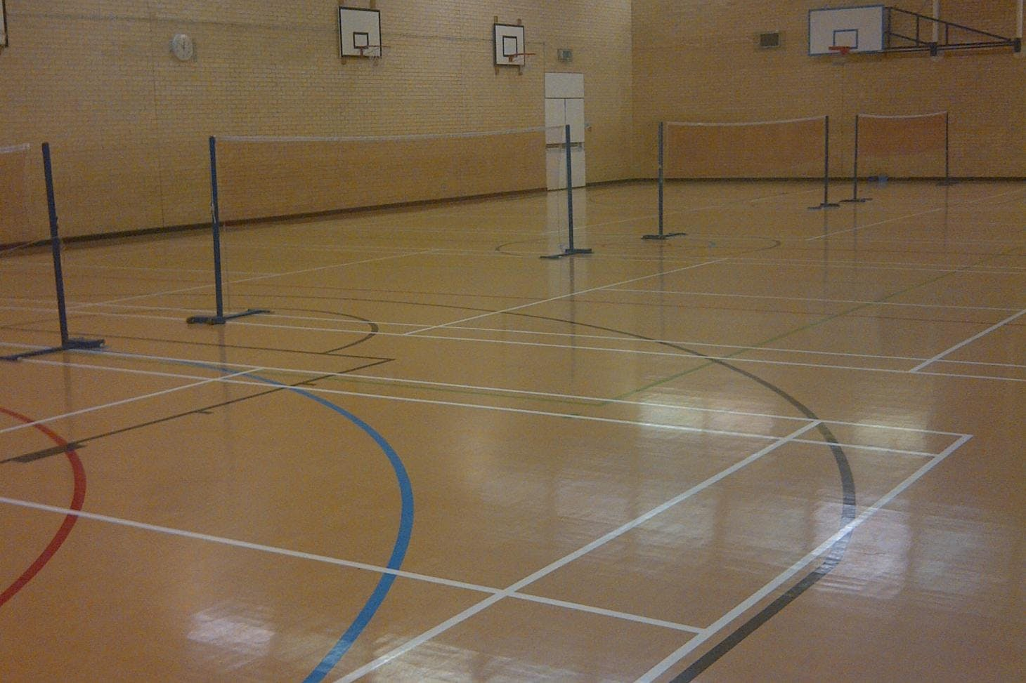 Becket Sports Centre Indoor basketball court