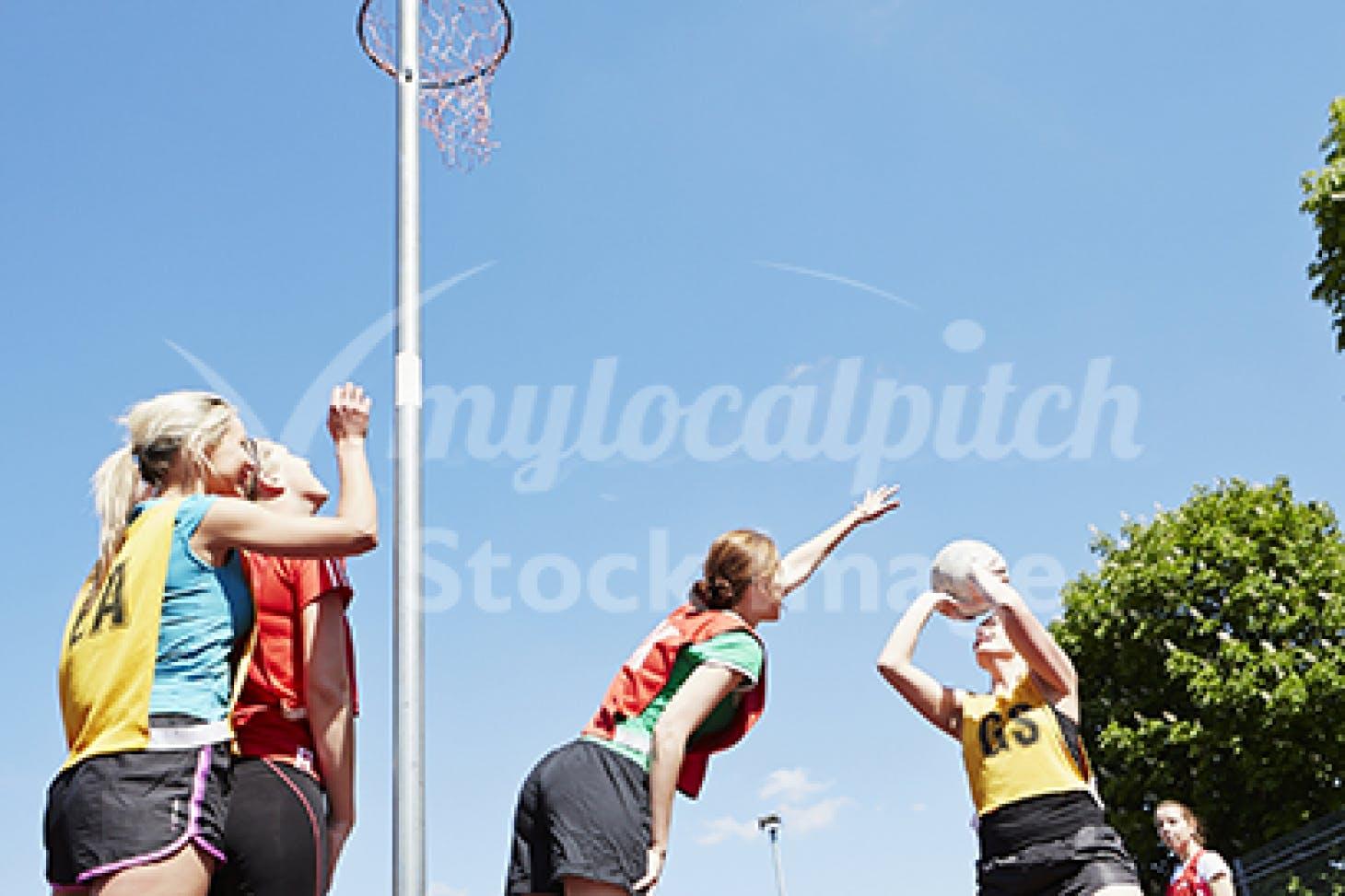 Longfield Academy Indoor netball court