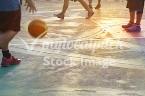 Longfield Academy | Indoor Basketball Court