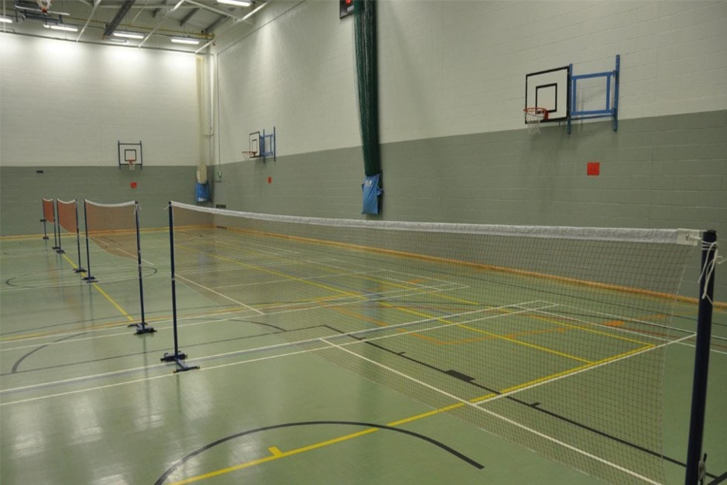 Richard Challoner School Indoor | Hard badminton court