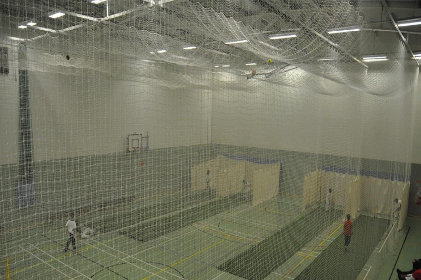 Richard Challoner School Nets | Sports hall cricket facilities
