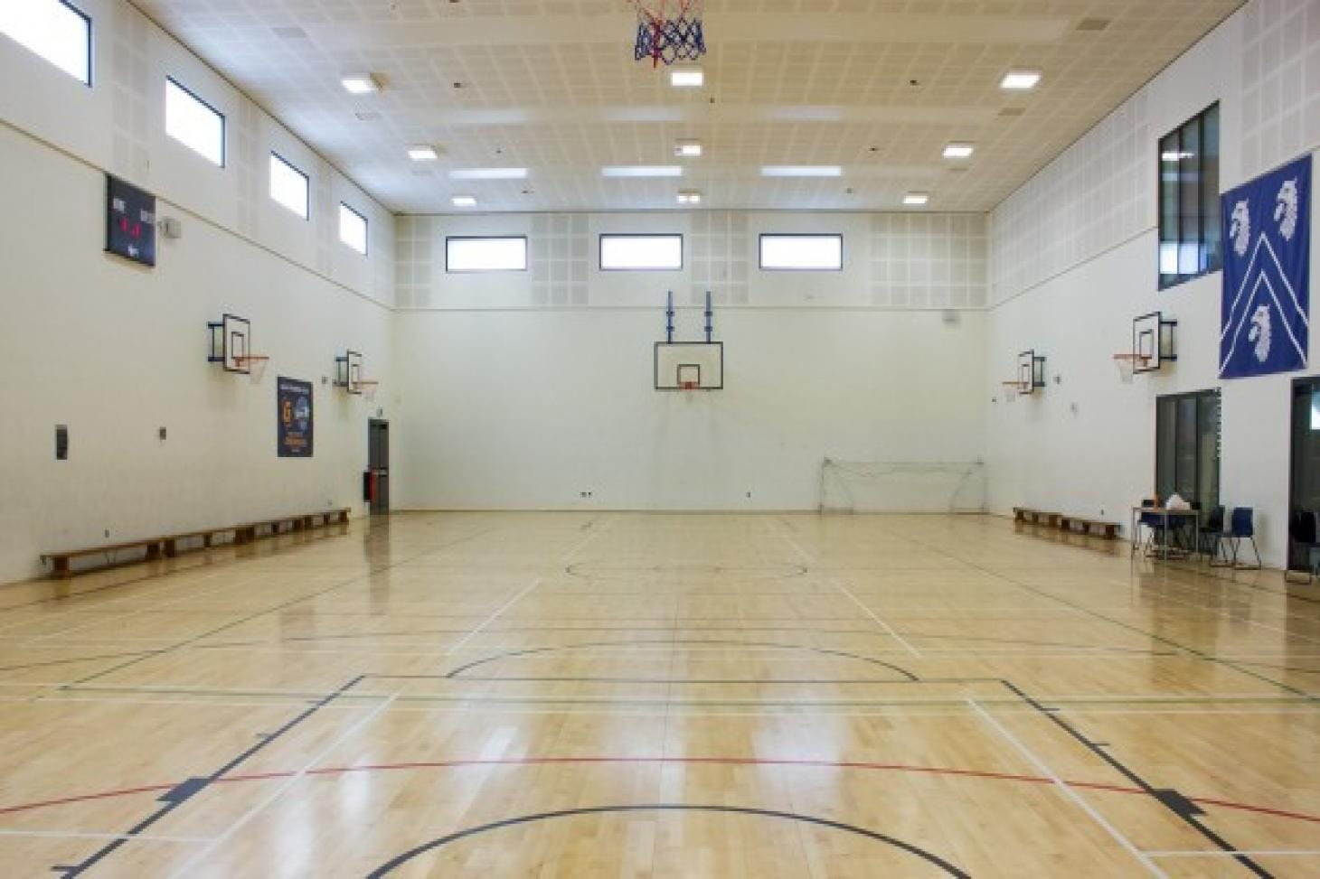 Raines Foundation School Indoor basketball court