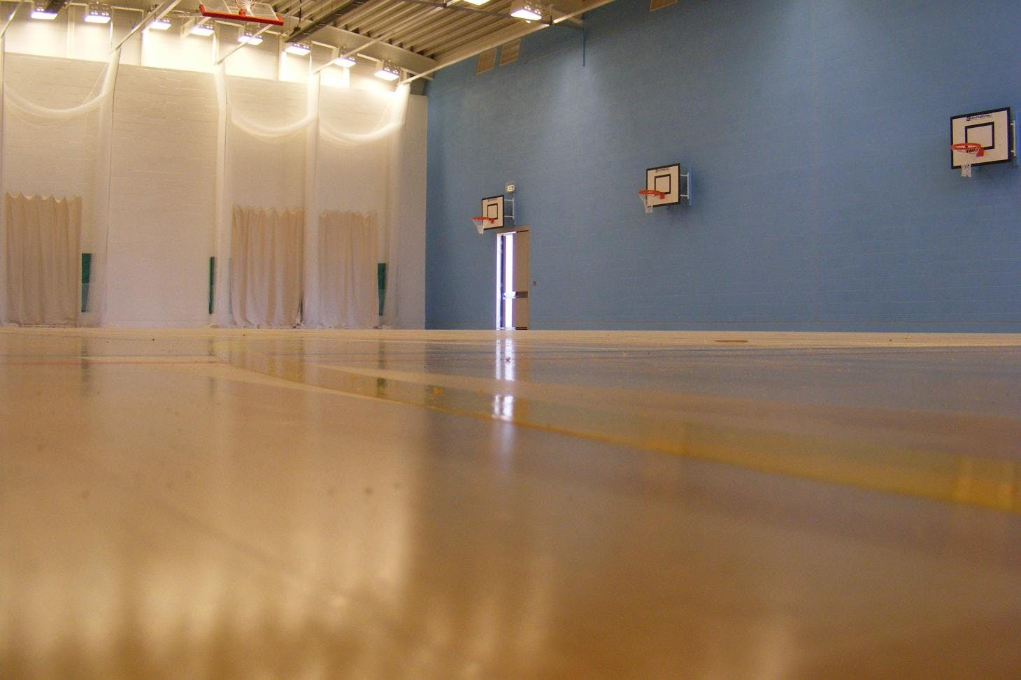 Dagenham Park Leisure Centre Indoor netball court