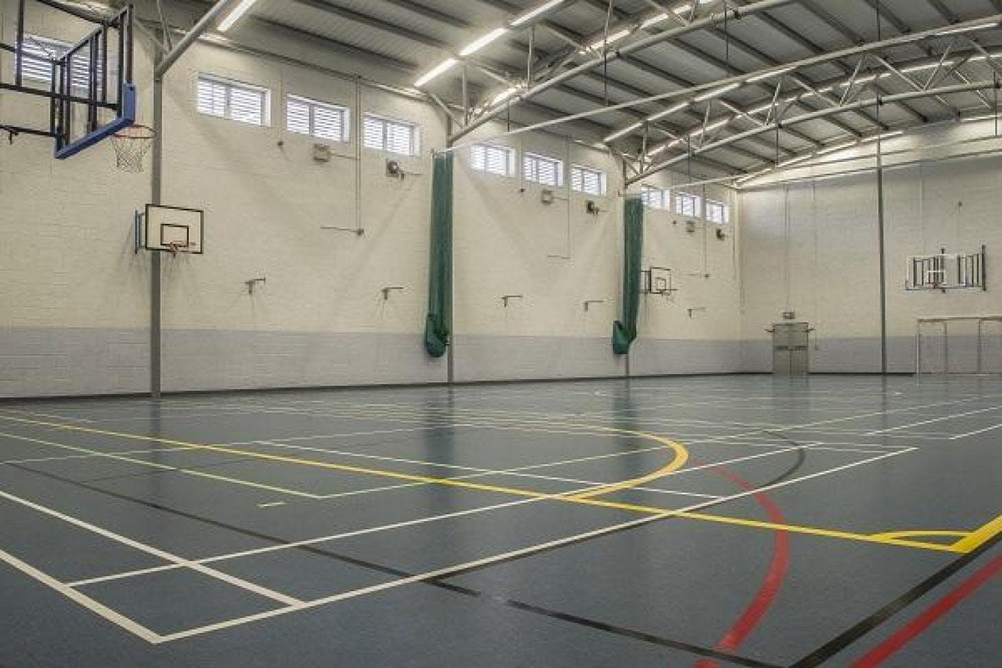 Corduff Sports Centre Indoor futsal pitch