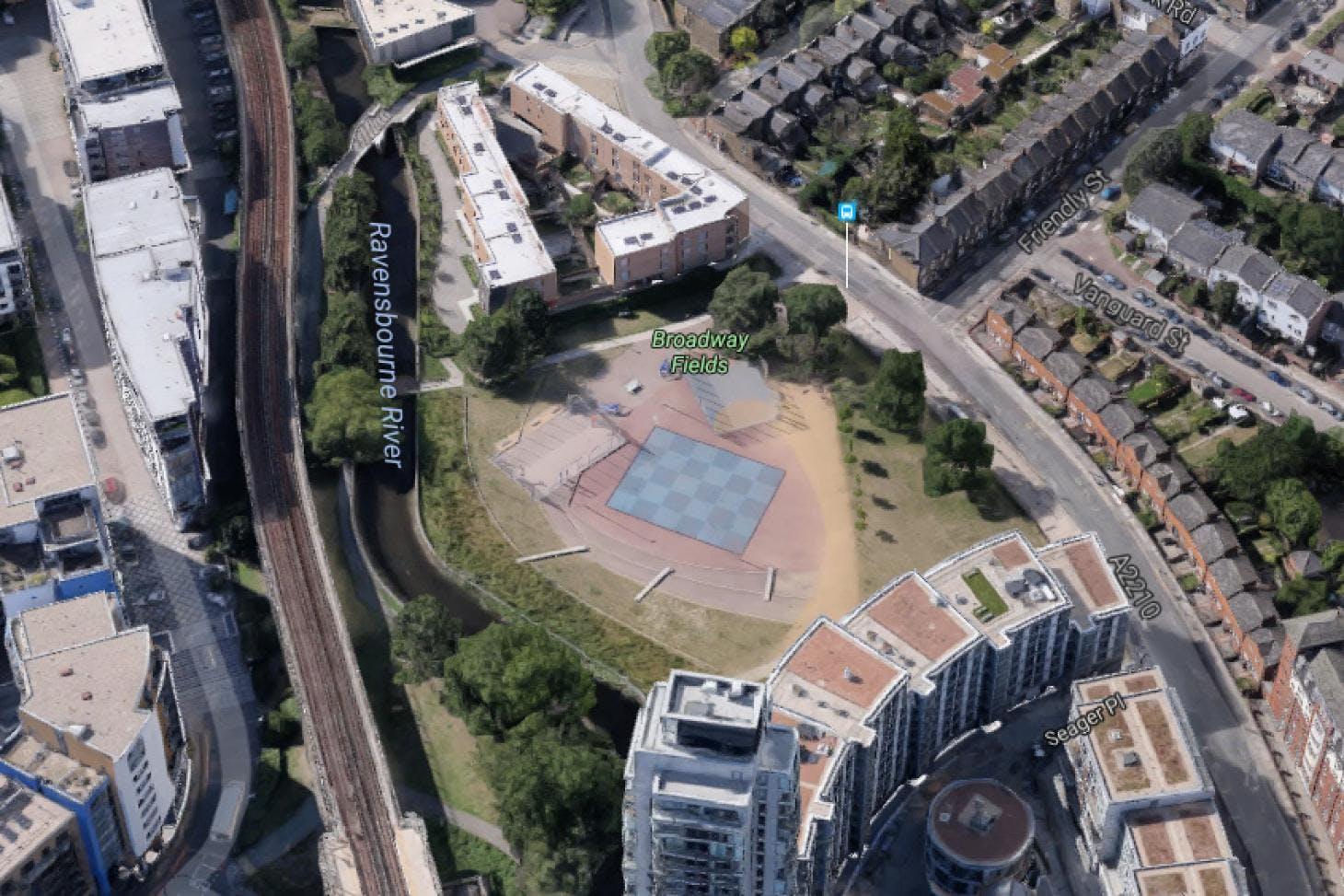 Broadway Fields 5 a side | Concrete football pitch