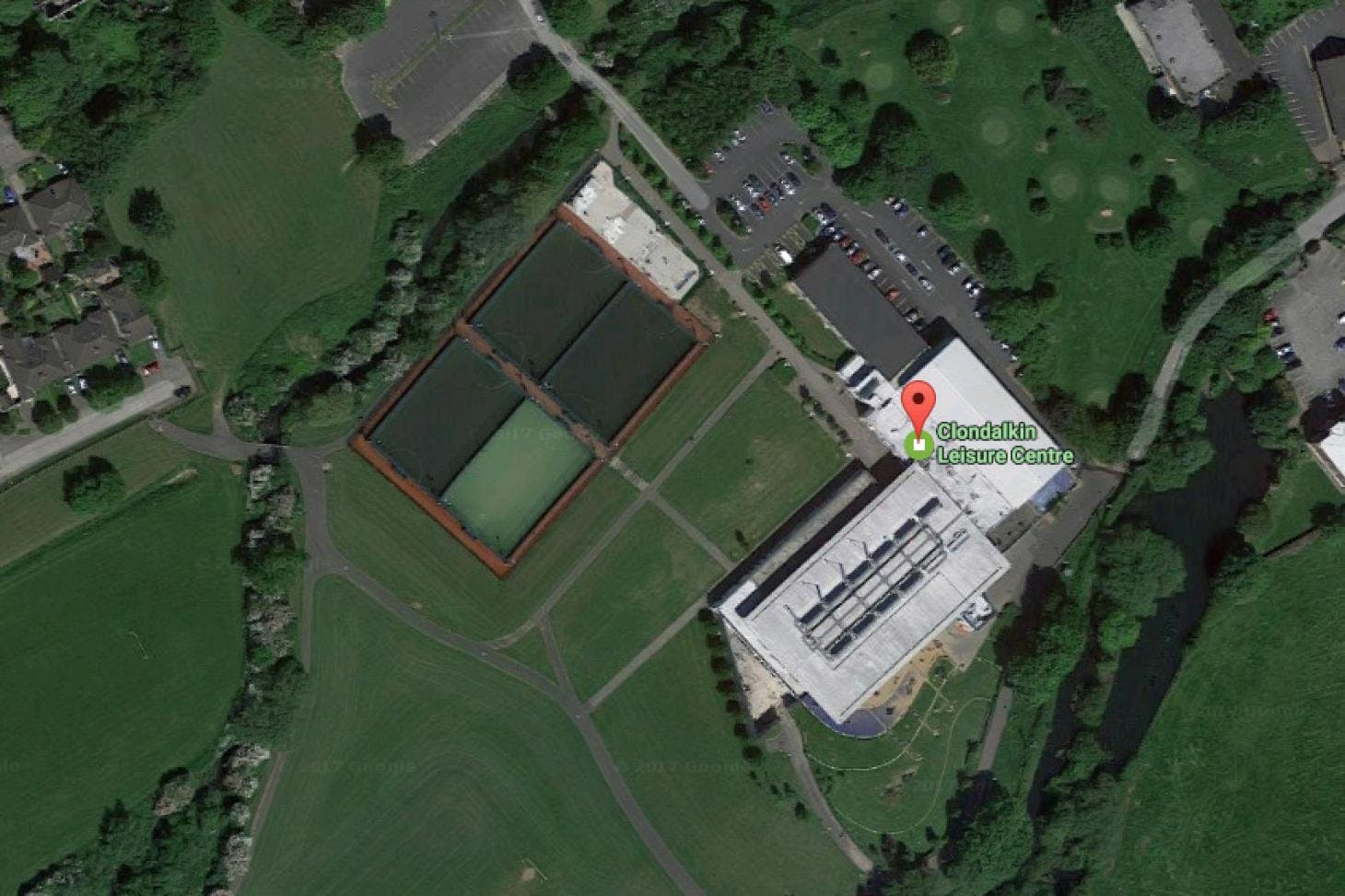 Clondalkin Leisure Centre Outdoor | Astroturf tennis court
