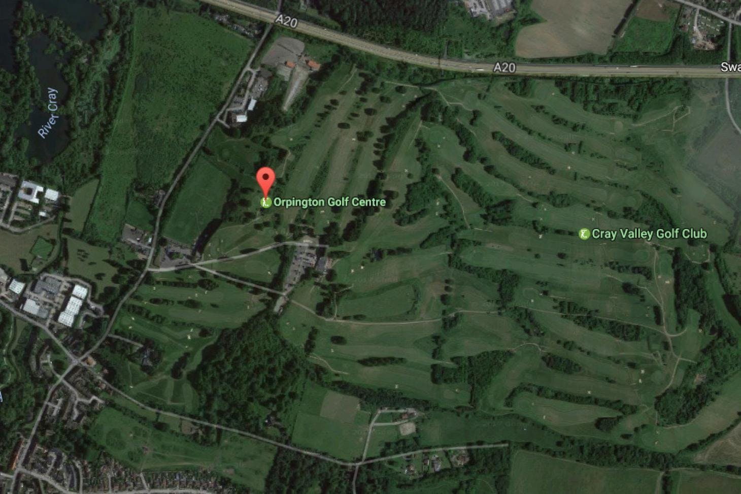 Orpington Golf Centre 18 hole golf course