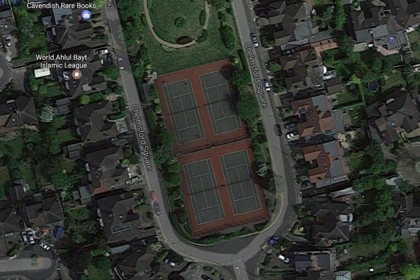 Chelmsford Square Open Space Outdoor | Hard (macadam) tennis court