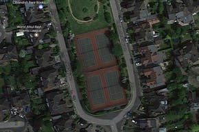 Chelmsford Square Open Space | Hard (macadam) Tennis Court