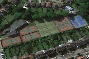 Finchley Manor Tennis, Squash And Health Club | Astroturf Tennis Court