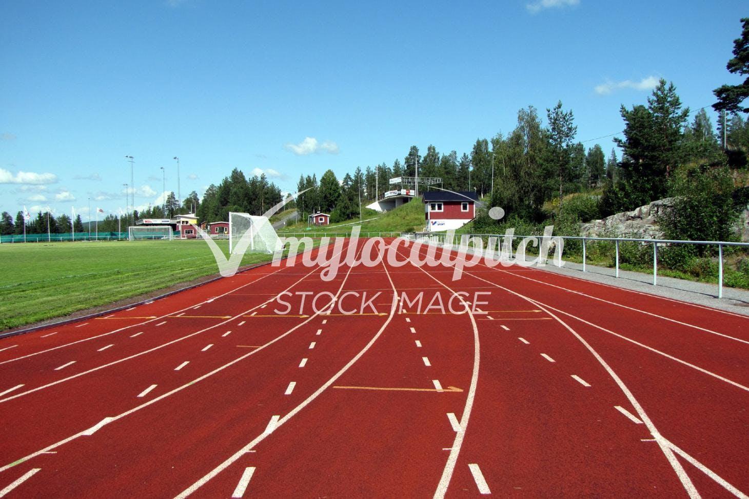 Drayton Green Running Track Outdoor | Grass athletics track