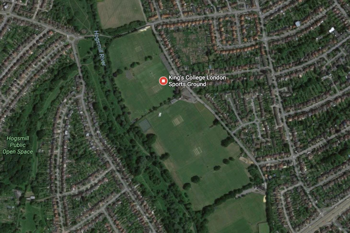King's College Sports Ground - New Malden Full size | Grass cricket facilities