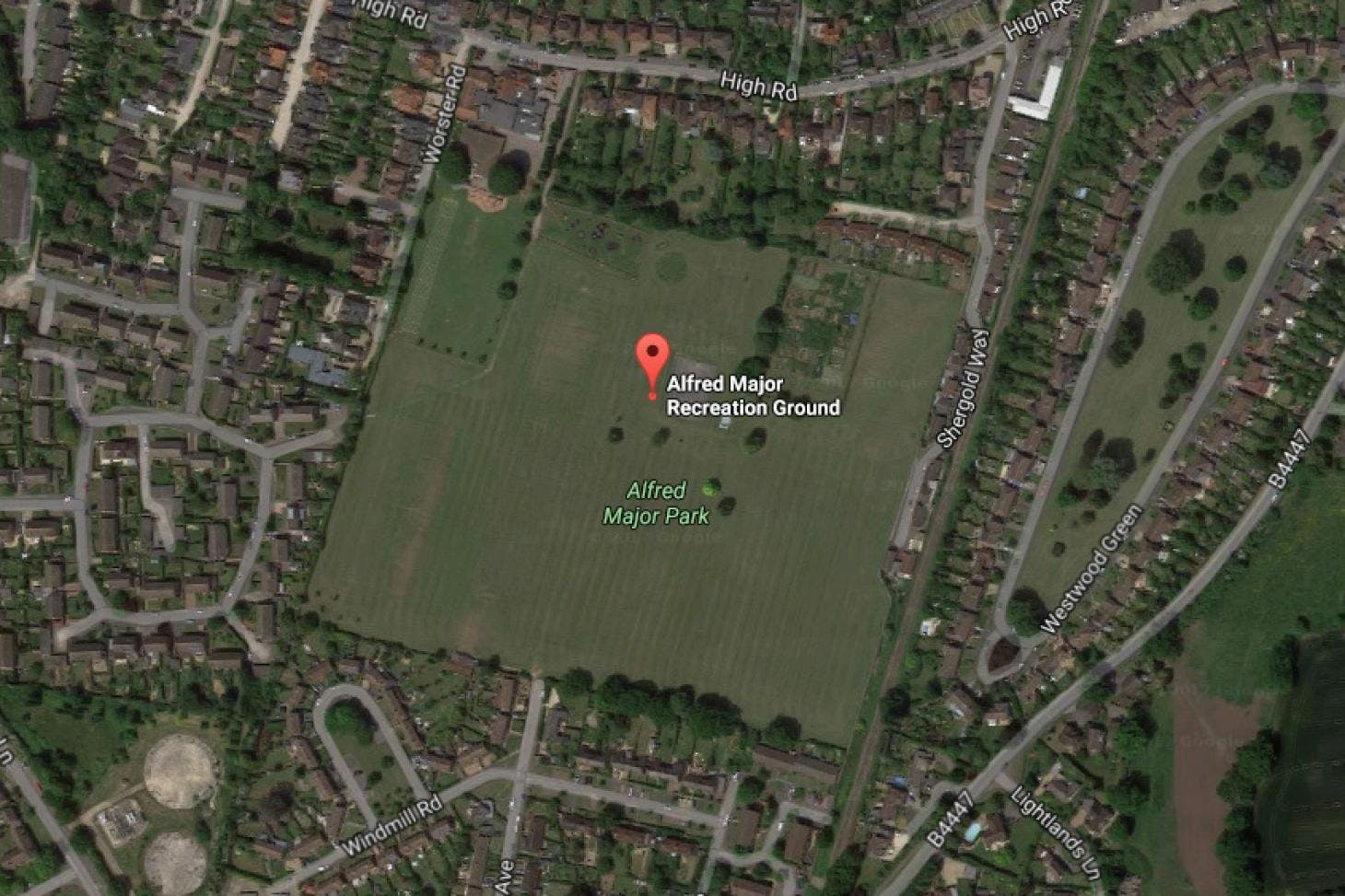 Alfred Major Recreation Ground Full size | Grass cricket facilities