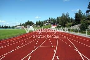 Wimbledon Park Athletics Track | Synthetic rubber Athletics Track