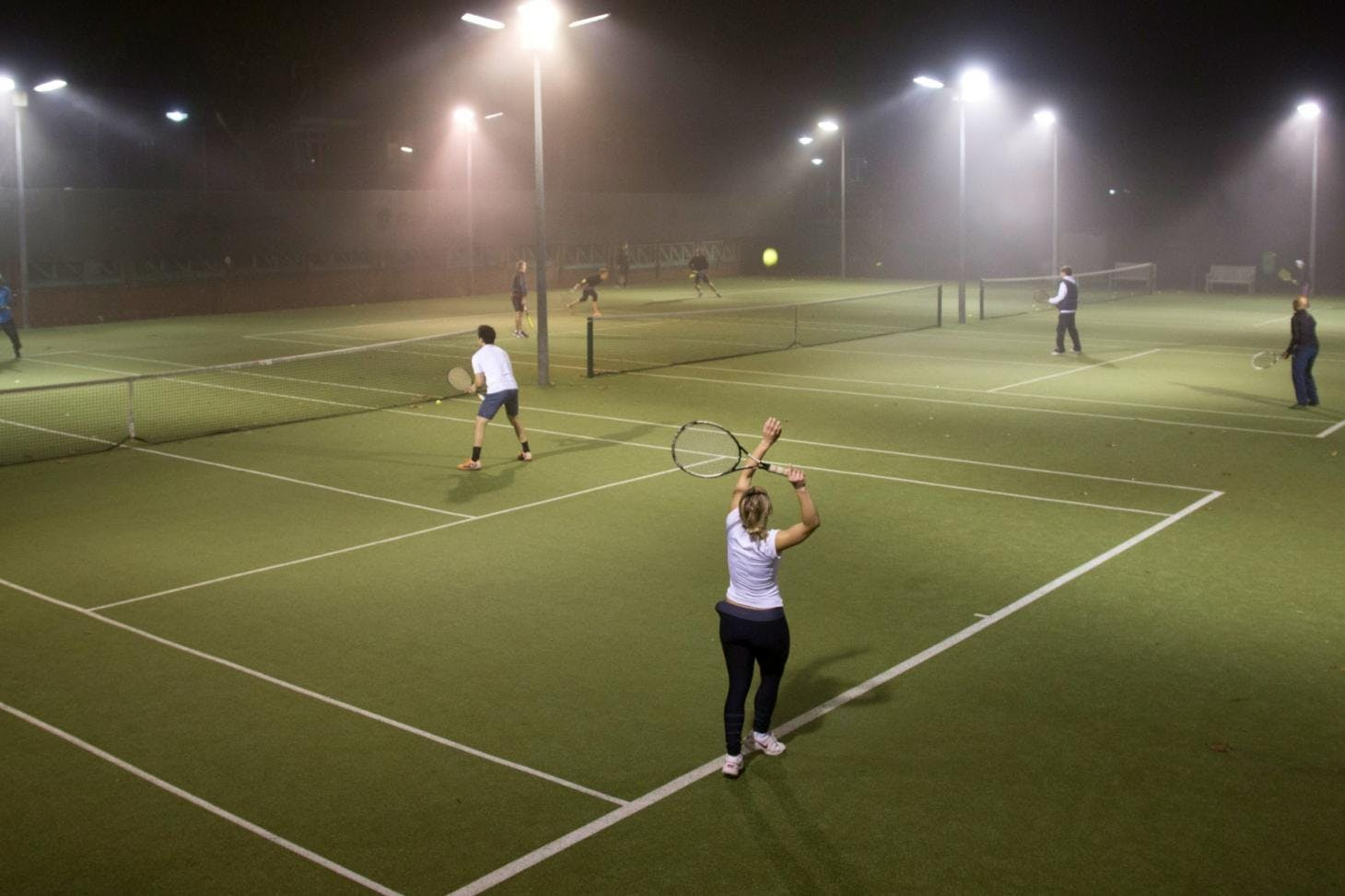 Globe Lawn Tennis Club Outdoor | Astroturf tennis court
