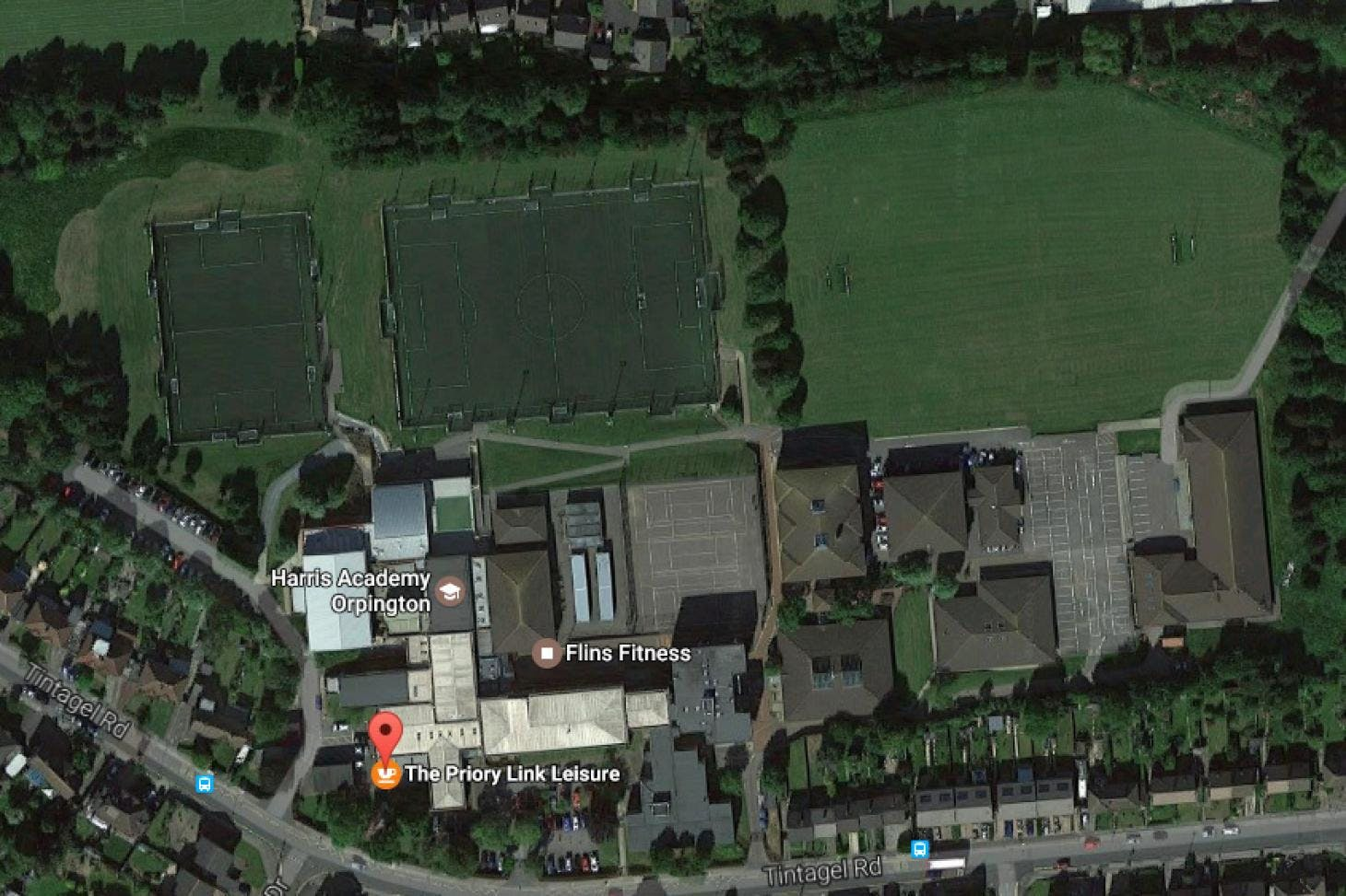 The Priory Link Leisure Centre 11 a side | Grass football pitch