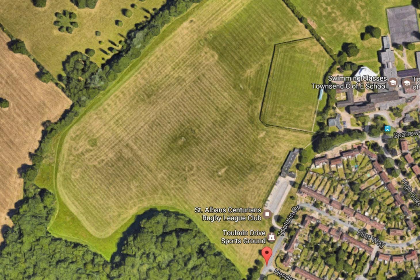 William Bird Open Space 11 a side   Grass football pitch